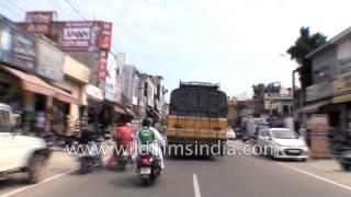 Hoshiarpur India  city pictures gallery : Driving from Hoshiarpur to Garhshankar - Part 4