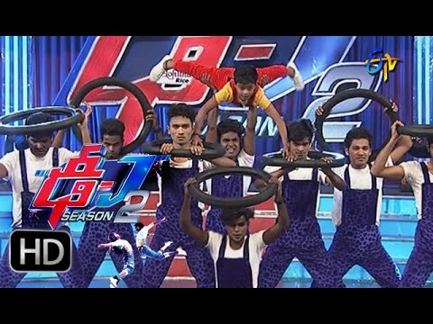 Dhee Juniors2 - Sivamani Performance - 23rd December 2015 - ఢీ జూనియర్స్2
