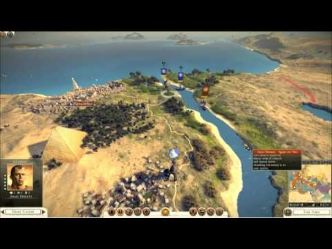 Total War - Rome 2 -  Campaign Map and Battle of the Nile