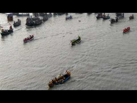 নৌকা বাইচ প্রতিযোগিতা-২০১৭, কর্ণফুলী নদী (Boat competition of 3rd karnaphuli Bridge))