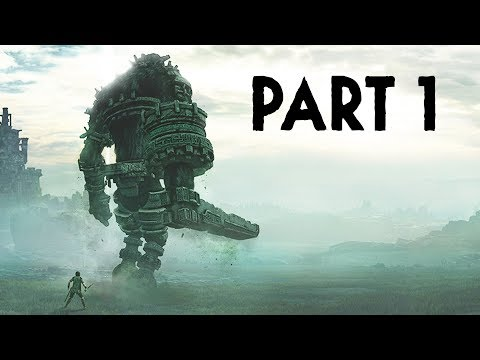 Shadow of the Colossus PS4 Gameplay Walkthrough Part 1 - 1st & 2nd Colossus