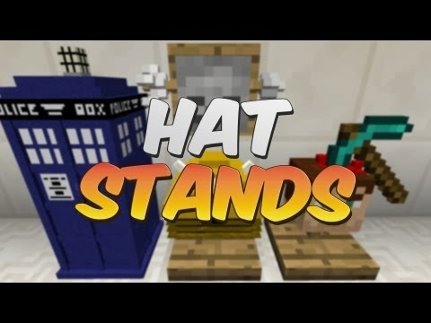 Hat Stands in Minecraft - iChun's Hats and Hat Stand Mod Showcase