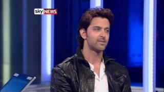 Hrithik's interview on sky news London
