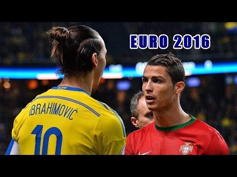 Euro 2016 ● Top 10 strikers ● Highlights | HD