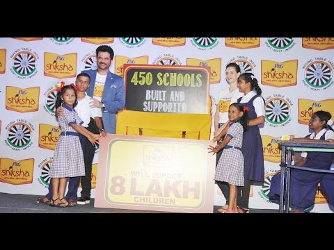 Anil Kapoor and Kalki Koechlin support P&G Siksha and 450 schools