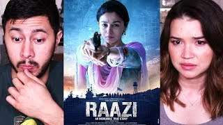 Video RAAZI | Alia Bhatt | Vicky Kaushal | Trailer Reaction! MP3, 3GP, MP4, WEBM, AVI, FLV Desember 2018