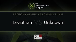 Leviathan vs unknown.xiu, game 1