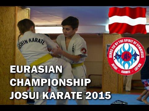 Чемпионат Евразии Джосуи каратэ в Латвии