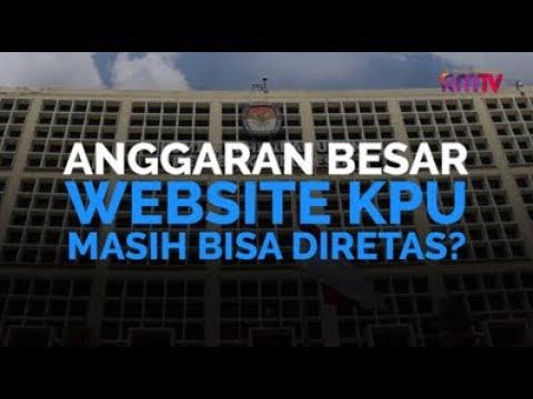 Anggaran Besar, Website KPU Masih Bisa Diretas?