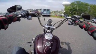 8. 2005 Harley Davidson Super Glide Custom test drive review