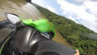 3. 2014 kawasaki stx 15f quick video of top speed