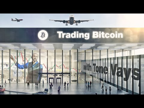 Trading Bitcoin - Quick Look at $BTCUSD from BKK Airport video