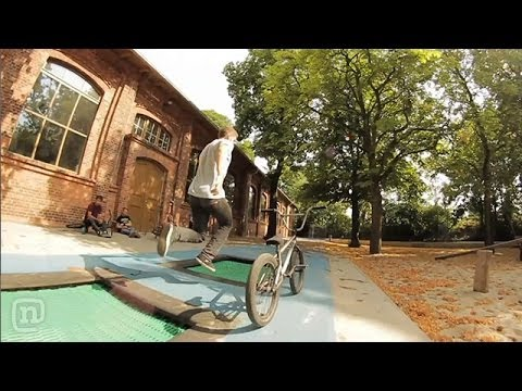 Weird BMX Riding: Russell Wadlin & Lucas Filliung On Crooked World