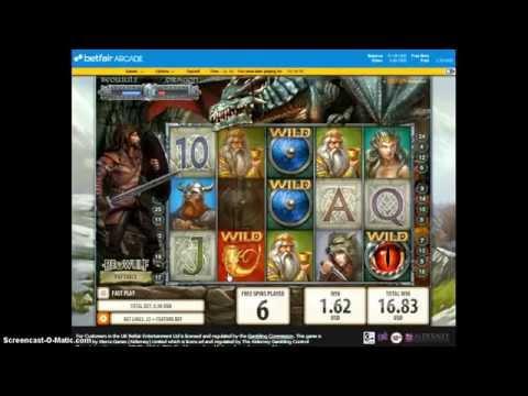 Betfair Arcade - Beowulf Slot Big Win