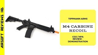 In this brand new episode we present the Tippmann M4 airsoft rifle with blowback system. This rifle works with HPA system or CO2 through a midcap magazine (8...