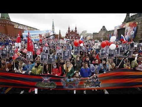 Μεγαλειώδης στρατιωτική παρέλαση στη Μόσχα για την Ημέρα της Νίκης