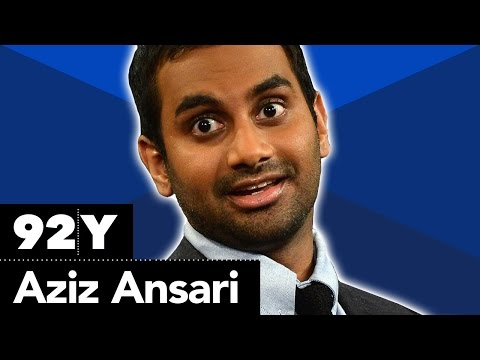 Exclusive Aziz Ansari Interview (92nd Street Y - Comedy)