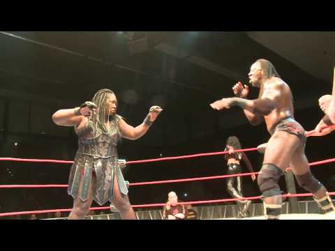 0 Kong vs. Booker T in Germany