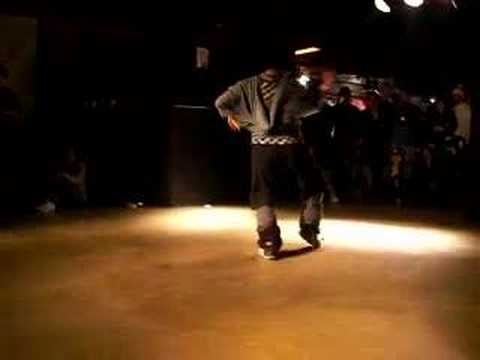 Tine Machine waacking в финале на B-boy Hodown