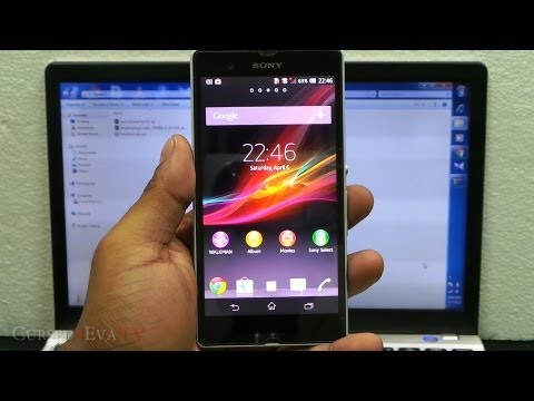 how to activate usb debugging on xperia z