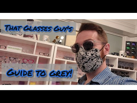 Sunglasses Lens Color Guide: A Guide To Gray Lenses. The Most Color Neutral Sunglasses! видео