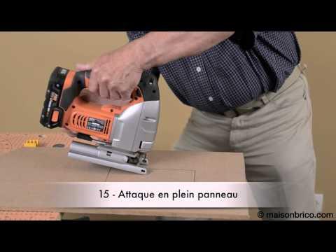 Comment utiliser une scie sauteuse - © Maisonbrico.com