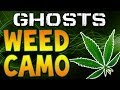 "COD Ghosts ""WEED CAMO"" Would It Make Your K/D ""HIGHER"" & (New Gun DLC Discussion)"
