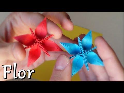 Flores de Papel - FLOR Verde: http://youtu.be/eoNO4ZX8Kxo -- FLOR Rosa: http://youtu.be/jyTYQBwrlCk Hola a todos! En este vídeo muestro cómo hacer una fantástica flor estre...