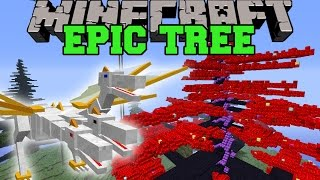 Minecraft: EPIC TREE (HUGE PRINCE PET, QUEENS TREE, TROLL ORE&MORE!) Mod Showcase