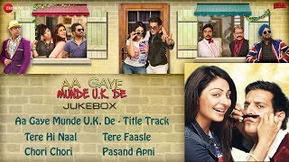 Aa Gaye Munde UK De Full Songs  Jukebox  Jimmy Sheirgill Neeru Bajwa  Punjabi Songs