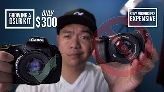 Video Building a Canon DSLR Kit for $300 and Hustling Your Way Up to Full-Frame MP3, 3GP, MP4, WEBM, AVI, FLV Juli 2018