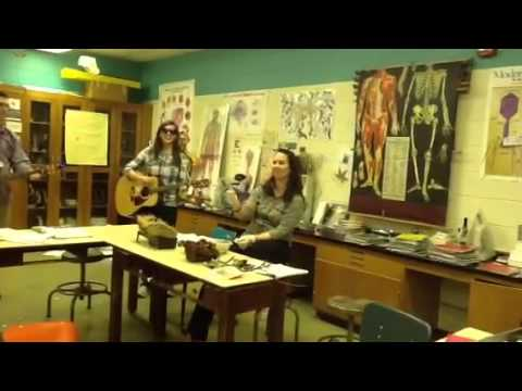 Me singing to Biology teacher Last of Valentines singing Part 12