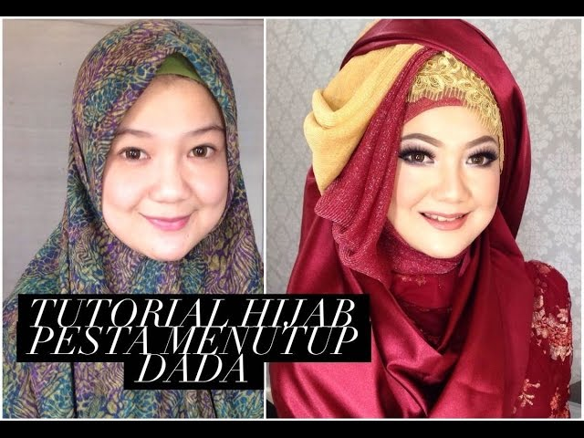 Tutorial Hijab Pesta Menutup Dada | Mp3Gratiss.com