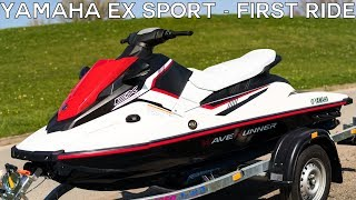 1. Yamaha EX Sport - First Ride