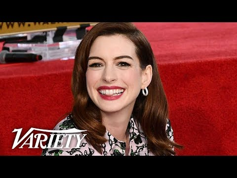 Anne Hathaway Walk of Fame Ceremony