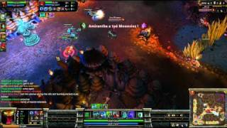 (HD 04) 5c5 cho gath part 2 - League Of Legend replays [FR] -