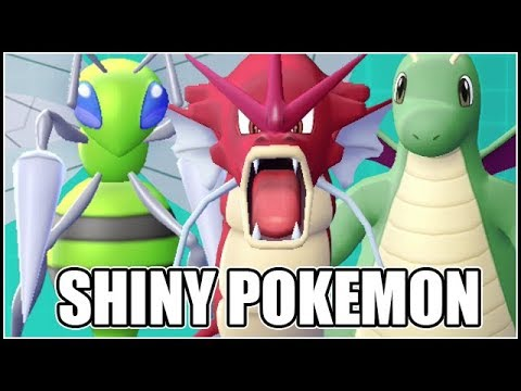 FULL SHINY POKEMON LET'S GO PIKACHU AND EEVEE TEAM!