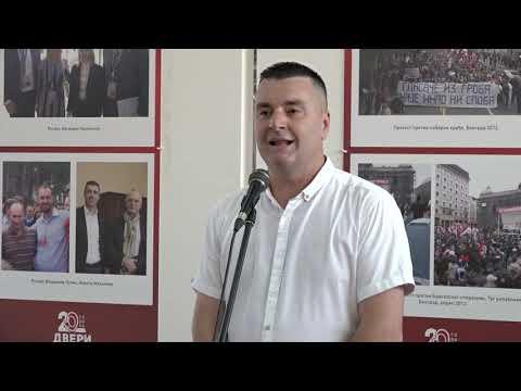 SRPSKI POKRET DVERI PROSLAVIO 20 GODINA OD OSNIVANJA OVE POLITIČKE ORGANIZACIJE