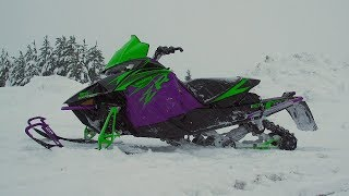 5. 2019 Arctic Cat Snowmobile Sneak Peek