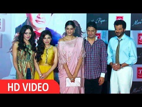 Anil Kapoor & Sonam Kapoor At Tulsi Kumar Song Launch Mere Papa UNCUT