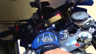 7. how to set SHIFT LIGHT on a gsxr 600, 750, 1000 2004 2005