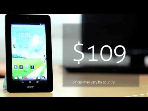 ACER Iconia One 7. English Review