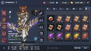 Lineage 2 Revolution Building Red Rare Set