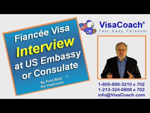 Fiancee Visa Interview at Manila US Embassy