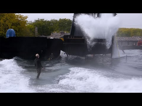 Adam Savage on Blade Runner 2049's Massive Water Set!
