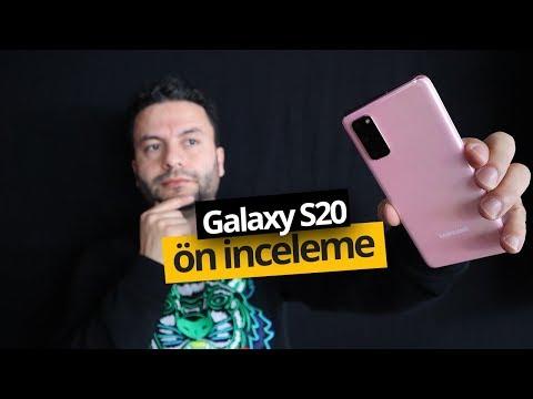 Samsung Galaxy S20 ön inceleme! Ailenin en küçüğü