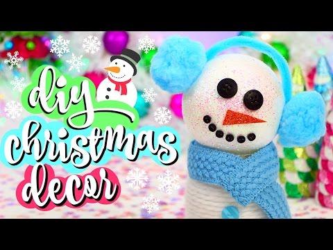 quattro decorazioni natalizie facili da realizzare