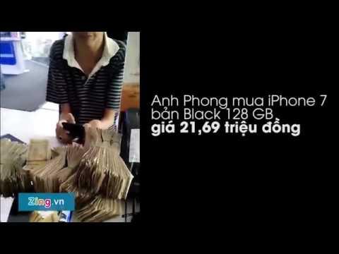 Thanh niên mang gần 22 triệu tiền lẻ đi mua iphone 7