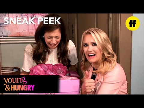 Young & Hungry | Season 5, Episode 9 Sneak Peek: Gabi Delivers Dinner Box | Freeform