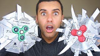 MOST DANGEROUS TOY OF ALL TIME 2.0!! (EXTREME FIDGET SPINNER EDITION!!) *INSANELY DANGEROUS* In this video Marcus (ADHD) plays with fidget spinners!! in one of the stupidest ways ever! By attaching actual blades, nails, and more! PLEASE GUYS!! NOBODY ATTEMPT THIS AT HOME!MY GEAR!! -Camera US: http://amzn.to/2qk2v5oMicrophoneUS: http://amzn.to/2qnR0qMLens US: http://amzn.to/2quwoMNSD CardUS: http://amzn.to/2pNwnY4Become My Friend On Social Media :D Snapchat - MarcusJXDTwitter - https://twitter.com/ADHDsWorldInstagram - https://www.instagram.com/adhdsworld/WANT TO SEND FAN MAIL??? I OPEN EVERY ITEM ON MY VLOG CHANNEL!!!P.O. Box Adress:Marcus JonesP.O. Box 1421Whittier, CA90609-1421